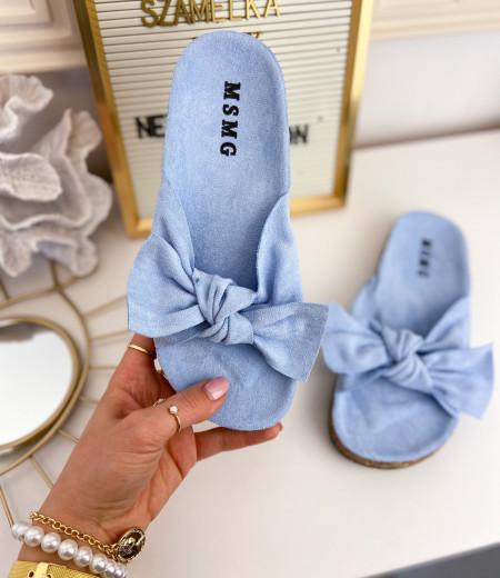 klapki DAISY blue 3