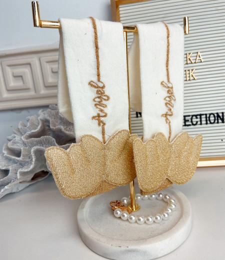 skarpetki ANGEL gold 1