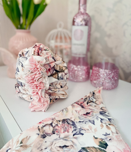 Turban FLOWERS 4