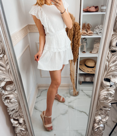 Sukienka FABELLA white