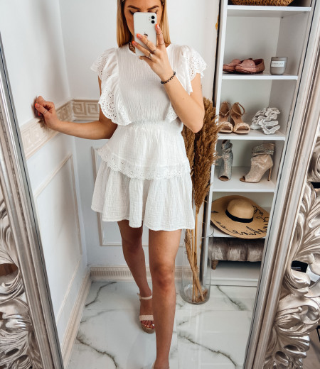 Sukienka FABELLA white 1