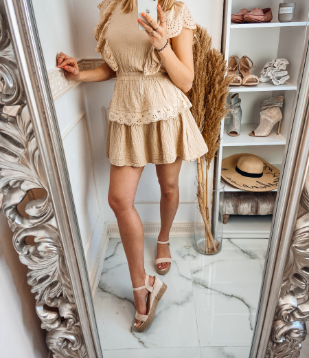 Sukienka FABELLA beige 3