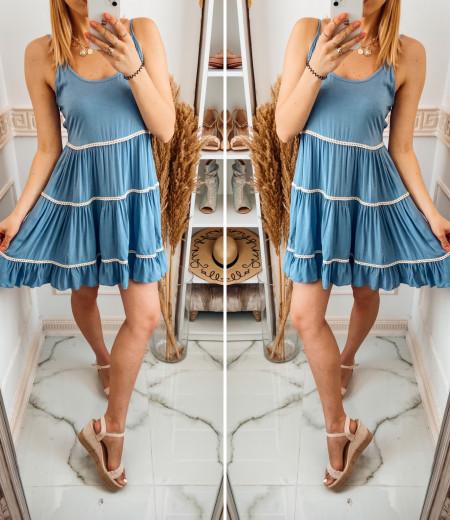Sukienka APRIL blue 1
