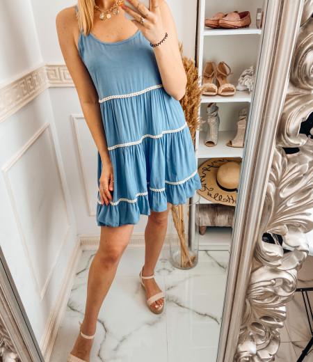 Sukienka APRIL blue 2