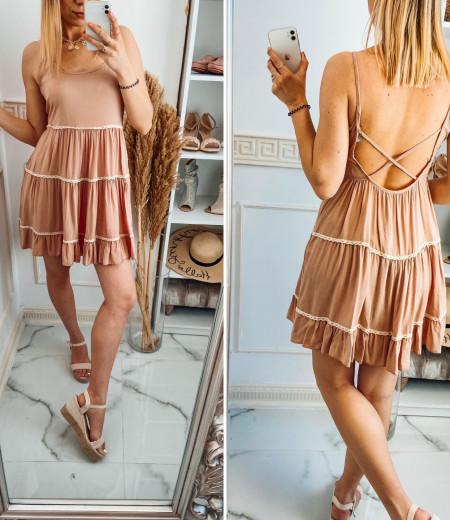 Sukienka APRIL pink