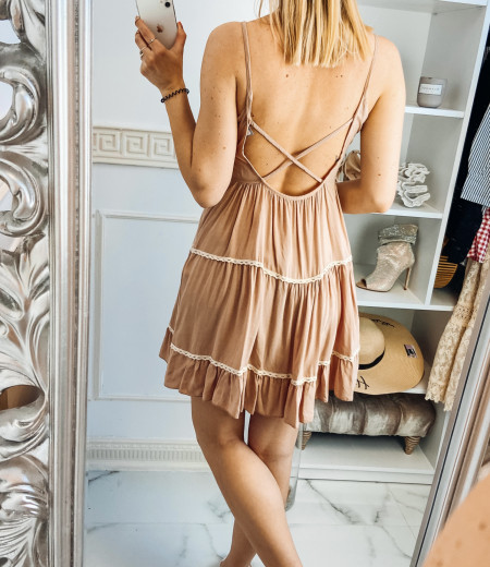 Sukienka APRIL pink 2