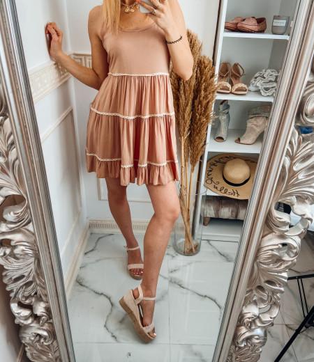 Sukienka APRIL pink 3