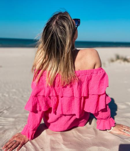 Bluzka TULUM pink 2