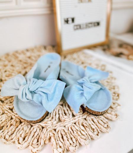 Dziecięce klapki DAISY blue 2