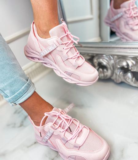 Sneakersy ART pink