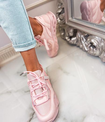 Sneakersy ART pink 1