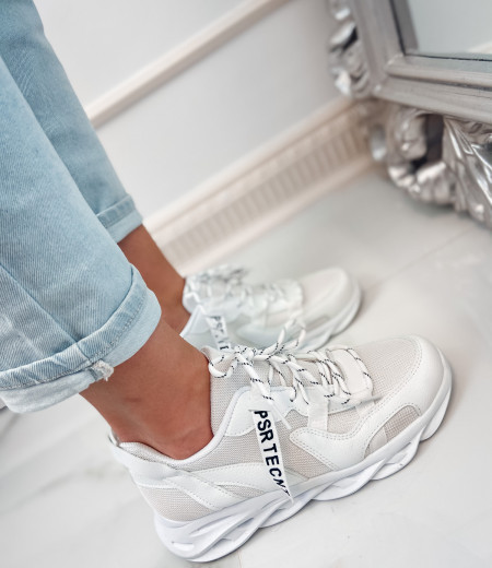 Sneakersy ART white