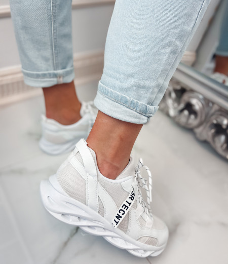Sneakersy ART white 1