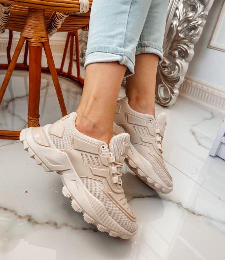 Sneakersy NADIA beige