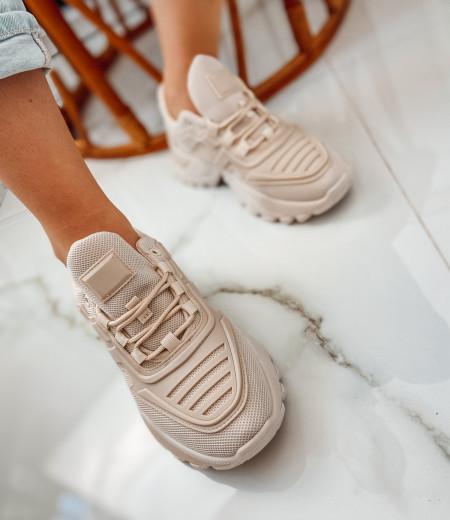 Sneakersy NADIA beige 1