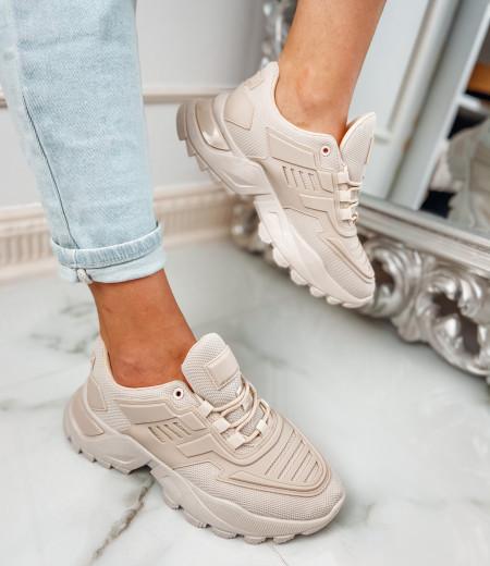 Sneakersy NADIA beige 2