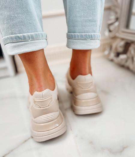 Sneakersy NADIA beige 3