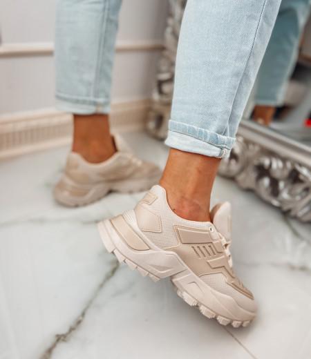 Sneakersy NADIA beige 4