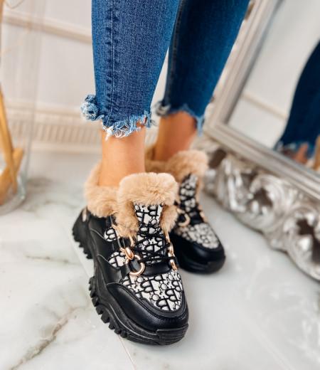 Sneakersy GIANNA FUR