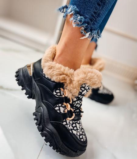 Sneakersy GIANNA FUR 1