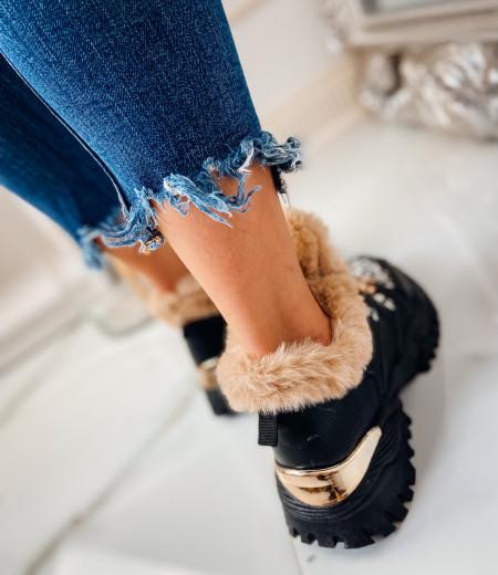 Sneakersy GIANNA FUR 3