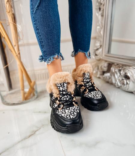 Sneakersy GIANNA FUR 4