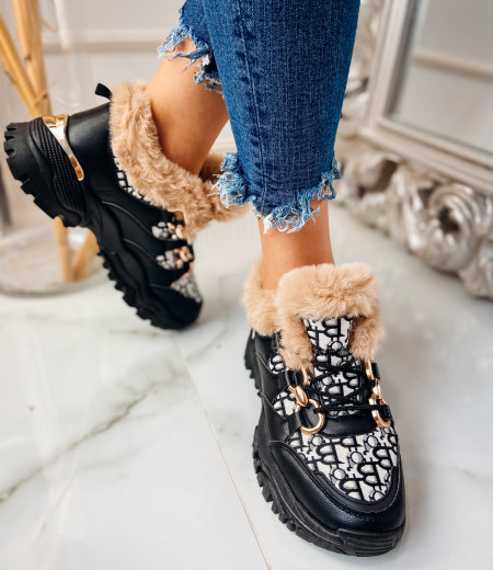Sneakersy GIANNA FUR 5