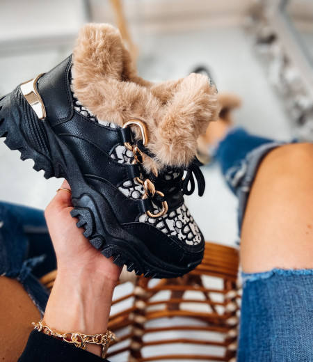 Sneakersy GIANNA FUR 6