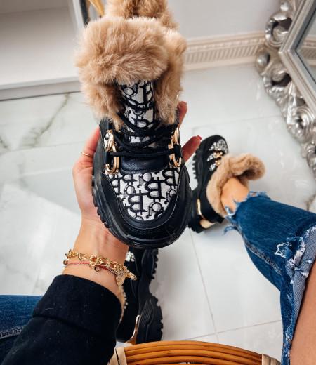 Sneakersy GIANNA FUR 7