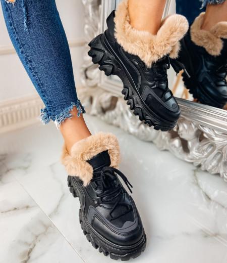 Sneakersy GIANNA BLACK