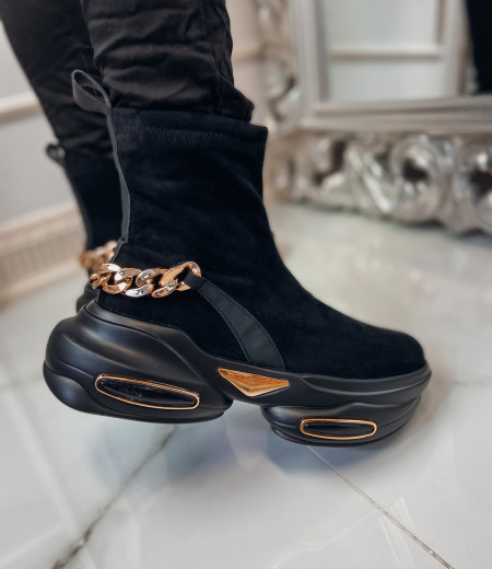 Sneakersy GOLDEN black 1