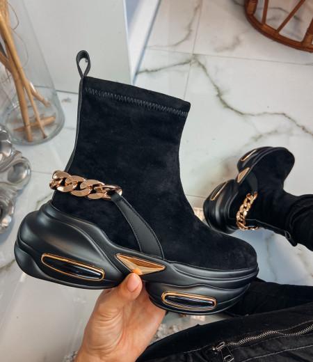Sneakersy GOLDEN black 2