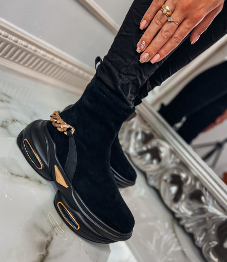 Sneakersy GOLDEN black 4