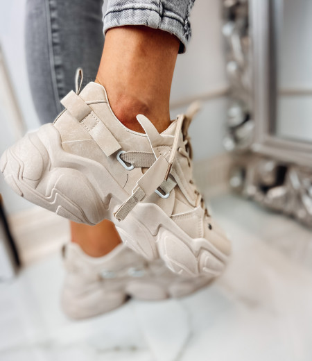 Sneakersy LISA BEIGE