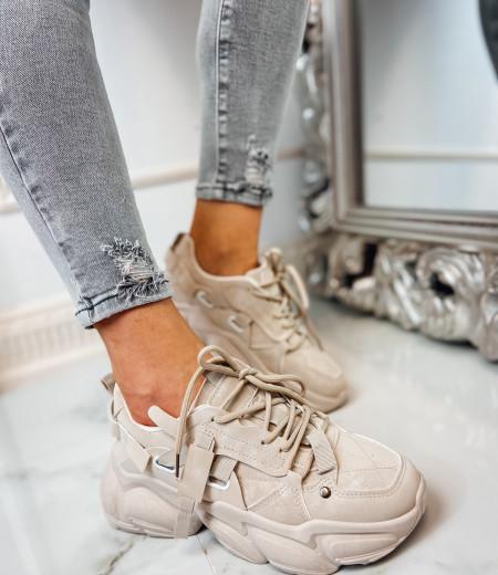 Sneakersy LISA BEIGE 1