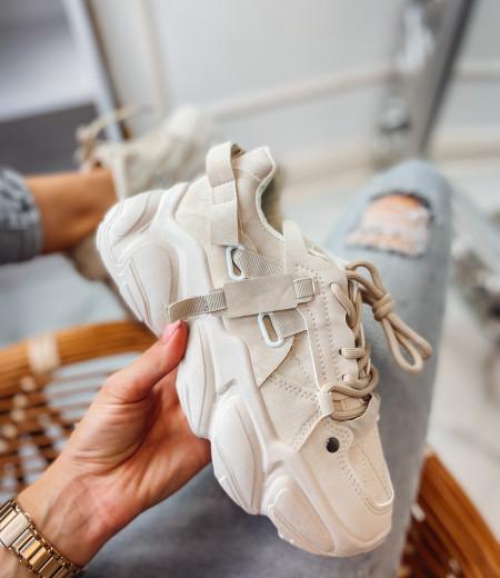 Sneakersy LISA BEIGE 2