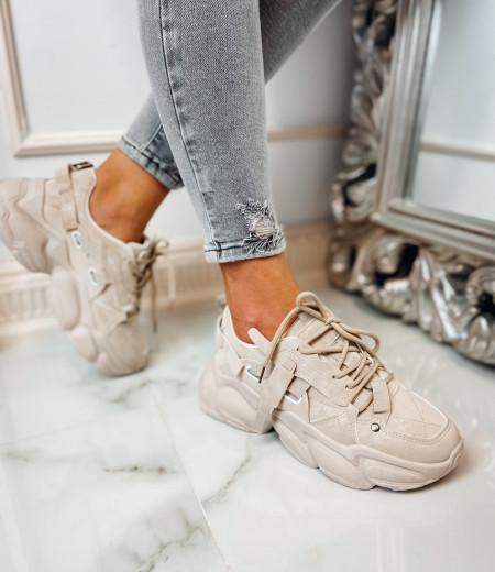 Sneakersy LISA BEIGE 3