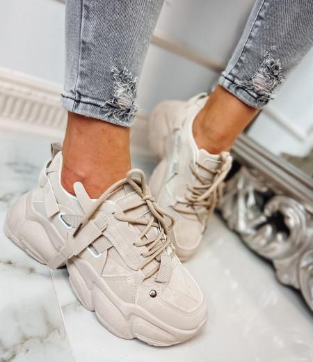 Sneakersy LISA BEIGE 4