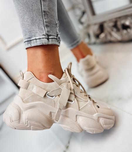 Sneakersy LISA BEIGE 5