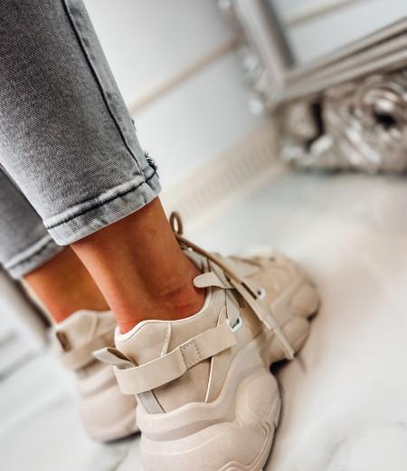 Sneakersy LISA BEIGE 6