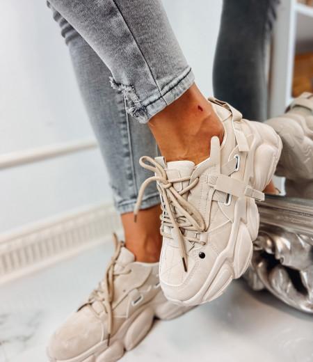 Sneakersy LISA BEIGE 7