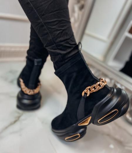 Sneakersy GOLDEN black